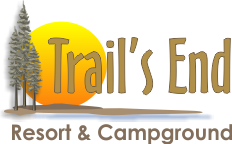 Trails End Resort A Premier Four Season Resort On Beautiful Echo Lake Logo